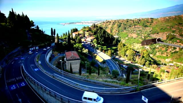 complicate mountain road video