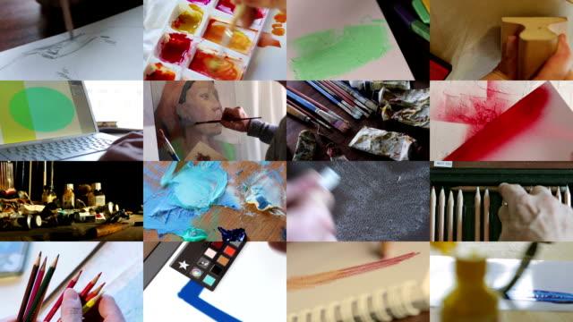 Composite art video