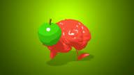 Computer animation - Fun brain video