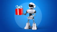 Computer animation - Robot video