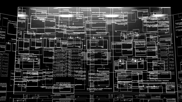 computer Code background video
