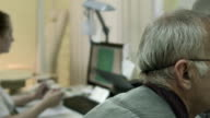 Computer diagnostics of eyesight video