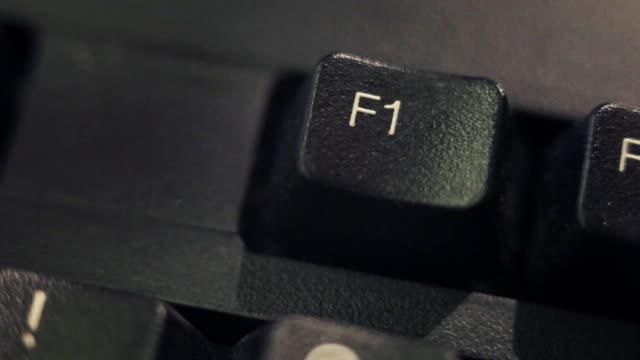 computer key: f1 video