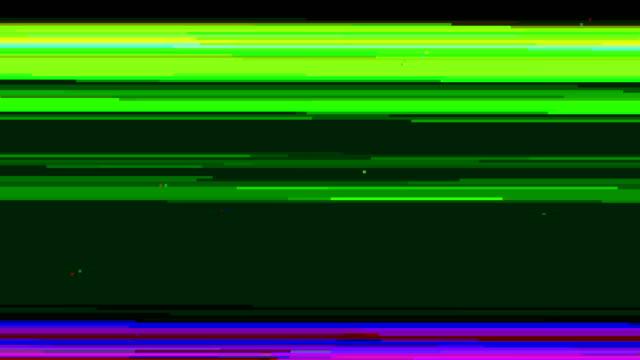 Computer Monitor Glitch Effect video