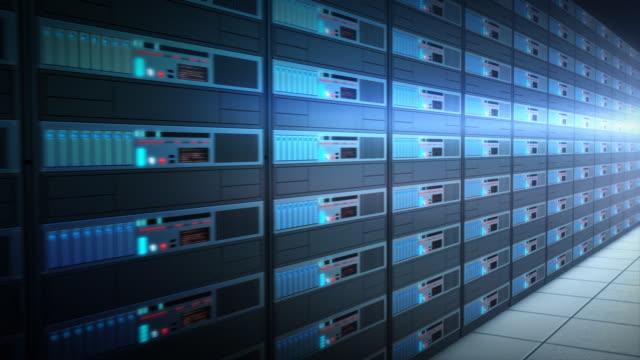 Computer servers video