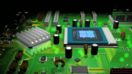 Computer System Innards 3D Animated Pan (HD) video