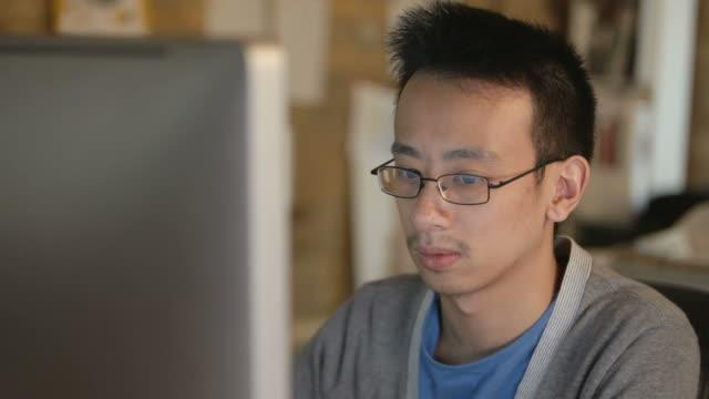 Computer User video