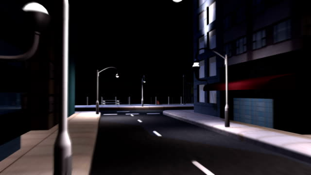 CG Concept City Clean Energy Lighting video