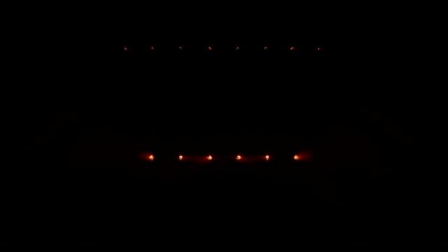 Concert lights. Warm colors. video