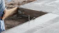 Concrete edge smoothing video