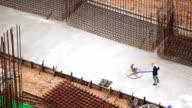 Concrete Finisher video
