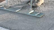 Concrete patio work video