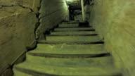 Concrete tonel with lanterns video