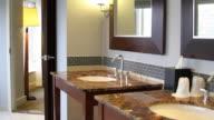 Condo Hotel Luxury Bathroom HD video
