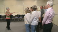 HD:  Conductor Giving Instructions To Choir video