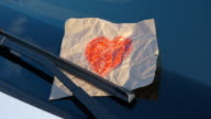 Confessions on a Windshield - Hand Drawn Heart video