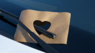Confessions on a Windshield - Paper Cut - Heart Shape video