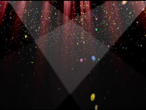 Confetti Curtain video