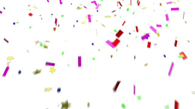 Confetti Falling - New Years Eve Party Celebration video