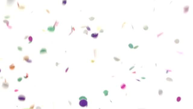Confetti Falling video