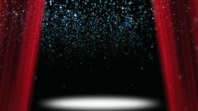 Confetti Glitter Stage Loop video