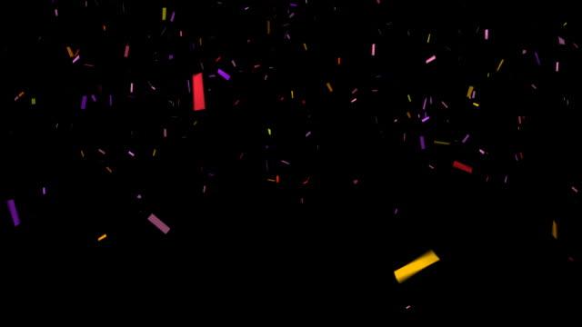 HD Confetti video