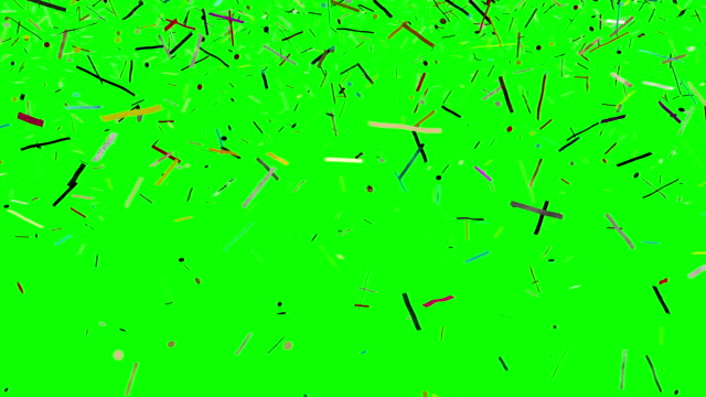 Conffetti_GreenScreen video