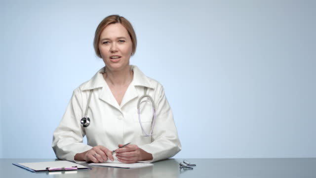 Confident Female Doctor video