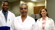 Confident Medical Professionals - Female Lead video