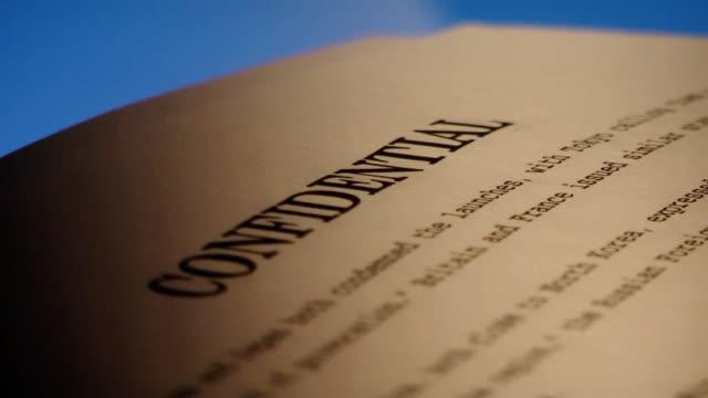 Confidential documents 2 video