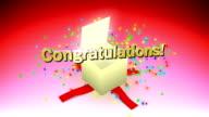congratulations box video
