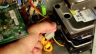 Connecting Hard Disk Drive video