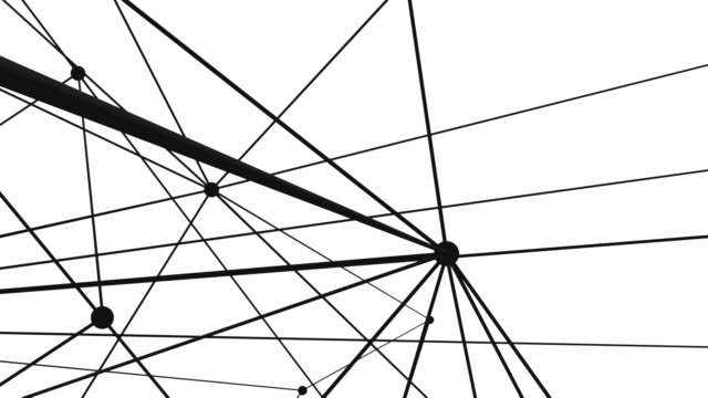 Connection structure , 3d animation video