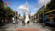 O'Connell Street, Dublin, Ireland video
