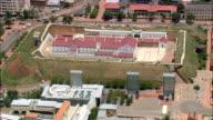 Constitution Hill  - Aerial View - Gauteng,  City of Johannesburg Metropolitan Municipality,  City of Johannesburg,  South Africa video