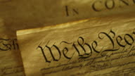 US Constitution - We The People video
