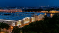 Constitutional Court of Russian Federation timelapse in St.Petersburg, Russia video