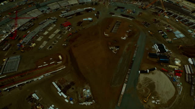 Construction Aerial video