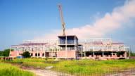 Construction crane video