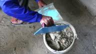 Construction industry,plasterer video