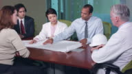 Construction Manager Presents to Multi-Ethnic Professionals video
