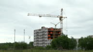 Construction of multi-storey apartment buildings video