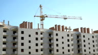 Construction of multi-storey brick complex video