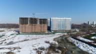 Construction panorama video
