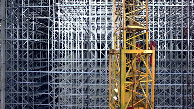 Construction plant building video