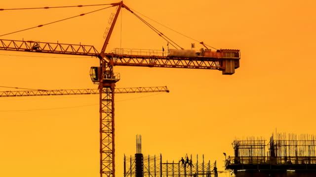 Construction Site Time Lapse. video