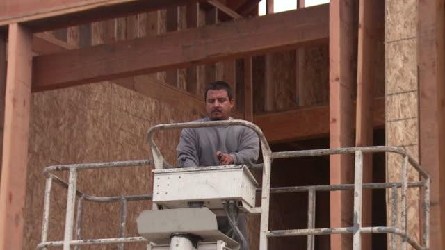 Construction Worker Lift video