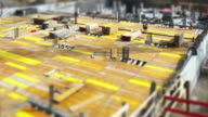 HD Construction Workers on Site (Tilt Shift & Time Lapse) video