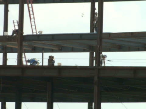 Construction Workers on Steel 2 video