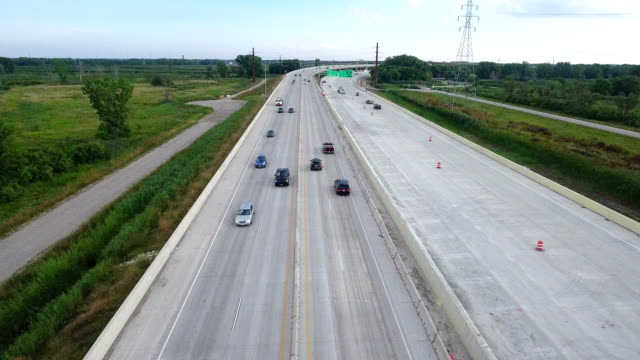 Construction zone rerouted Interstate 41 Green Bay video